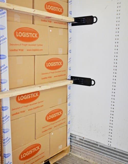 Loadbar Wide® installed
